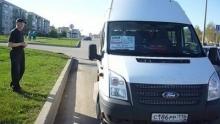 В Набережных Челнах обстреляли микроавтобус частного автоперевозчика