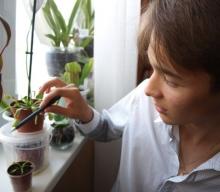 Владимир Чаннов растит хищные цветы
