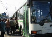Вдвое меньше  автобусов будет в городе
