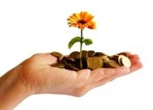 Цветочки-денежки