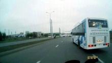 Гонки челнинских автобусов