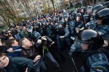 В московском районе Бирюлево начались беспорядки