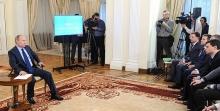 Челнинец Глеб Ерохин побеседовал с Владимиром Путиным