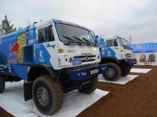 Экипажи «КАМАЗ-мастера» получили стартовые номера на 'Дакар-2014'