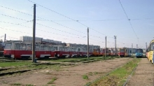 'КАМАЗ' передал городу трамвайный парк,