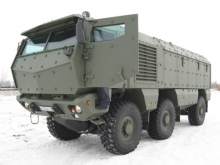 Новейшая разработка ОАО «КАМАЗ» - бронеавтомобиль