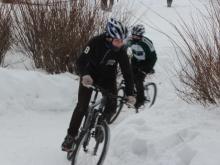 В Челнах прошли соревнования по зимнему маунтинбайку