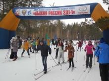 Жители Набережных Челнов вышли на 'Лыжню России'