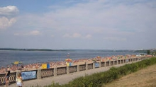 20 мая в Набережных Челнах закончится обустройство городского пляжа