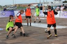 Победой «драконов» завершился финал Школьной футбольной лиги