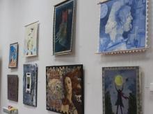 Картины-марки и арт-лабиринт