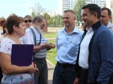 Василь Шайхразиев встретился с жителями 58-го комплекса