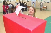 Школьники выбирают своих депутатов