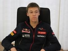 Сотня челнинцев пришла на встречу с пилотом Формулы-1 Даниилом Квятом