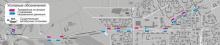 Карта новых остановок