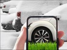 Зимняя парковка на газоне: Найдем и накажем!