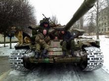Доброволец вернулся из Луганска