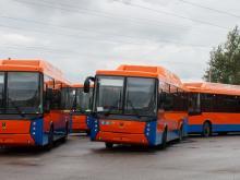В Набережных Челнах пока курсируют только 40 больших автобусов из 196