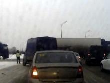 «Эхо погони на Орловском кольце»: ГИБДД разрешено использовать грузовики как «щит» при задержании