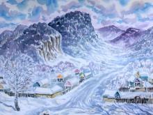 Главный архитектор в отпуске рисовал картины в Башкирии