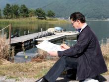 Главный архитектор Набережных Челнов запечатлел красками красоту Японии