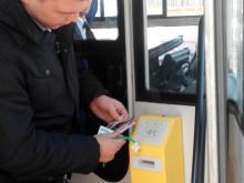 На каких маршрутах автобусов в Набережных Челнах действуют электронные карты?