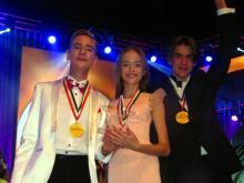 Челнинцы Артём Бадертдинов и Камила Маликова стали чемпионами Мира WCOPA в Голливуде