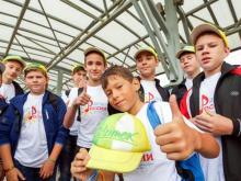 Челнинский хор мальчиков 'Эксклюзив' выступил на фестивале в Артеке