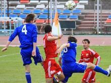 В последнем матче на своем стадионе ФК 'КАМАЗ' одержал волевую победу на последних минутах