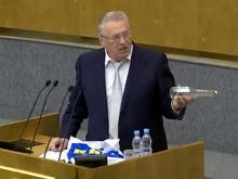 Жириновский назвал министров в России 'напёрсточниками' и пообещал им 'май 2018-го' (видео)