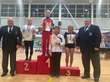 Анна Микрюкова заняла первое место на чемпионате России по тяжелой атлетике