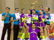 Челнинские черлидеры завоевали два первых места на турнире в Самаре