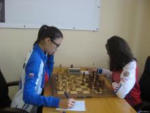 Челнинская чемпионка по быстрым шахматам желает победы Сергею Карякину