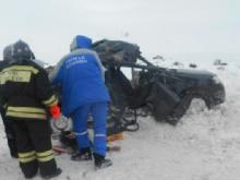 В Бугульминском районе Татарстана в ДТП с фурой погиб пассажир легковой иномарки
