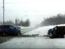 Шесть человек пострадали в ДТП на подъезде к Набережным Челнам со стороны Нижнекамска