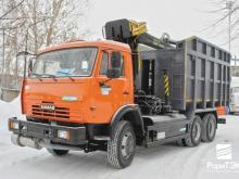 'РариТЭК' представил новинку - газомоторный 'КАМАЗ' для сбора металлолома