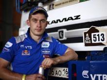 Экипаж Дмитрия Сотникова выиграл седьмой этап 'Дакара' в зачете грузовиков