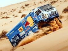 Андрей Каргинов вышел на 3 место в общем зачете джипов и грузовиков на ралли 'Африка Эко Рейс'