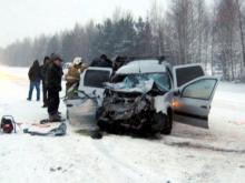 Сегодня утром в Агрызском районе Татарстана в ДТП погибли мужчина и женщина