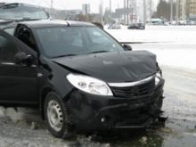 В столкновении автомобилей на проспекте Дружбы Народов пострадал грудной ребенок