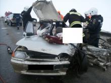 В Татарстане произошло ДТП, в котором погиб пассажир и еще четверо пострадали