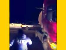 В Татарстане автоинспекторы перегородили трассу фурой, чтобы остановить автоугонщика (видео)