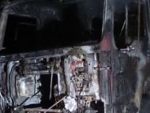 На выезде из Набережных Челнов сгорел грузовик-фургон «Тойота Хино»