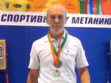 65-летний челнинец завоевал на этапе Кубка России по спортивному метанию ножа 'серебро' и 'бронзу'