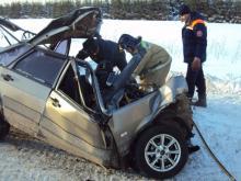 Молодой парень, лишенный водительских прав, разбился насмерть на автотрассе 'Елабуга - Пермь'