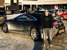 Бизнесмен Эрик Гафаров разогнал свой 'Мерседес' на автотрассе М-7 до 250 километров в час