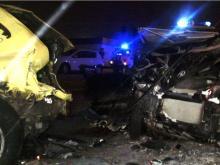 Пьяный водитель врезался в Казани в машину скорой помощи - погиб человек, пострадали медики