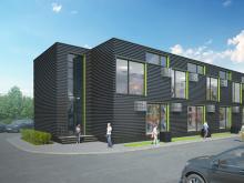 Проект офисного центра на «первой дороге» «завернули» при обсуждении: «слишком» низкий и серый