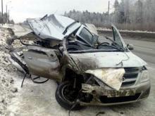 На трассе М-7 в Нижегородской области в ДТП с автомобилем из Татарстана погибли два человека