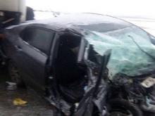 В Татарстане на автотрассе М-7 в столкновениии с фурой погиб 44-летний водитель